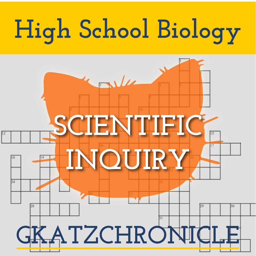Scientific Inquiry Review Crossword