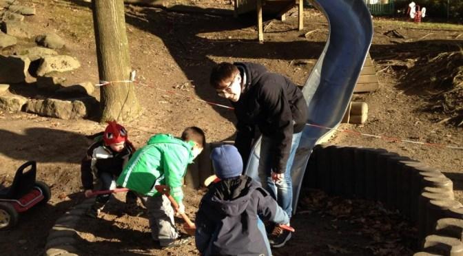Fleißige Helfer in Kitas und Grundschulen
