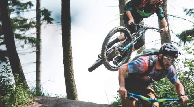 Schulklasse auf Rädern: Downhill im LK