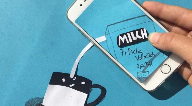 KUNST – SchülerInnen-Smartphones zeigen ihre ganz verborgenen Seiten