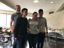 Das spanische Kochteam überzeugte mit der Zusammenstellung seines Menüs