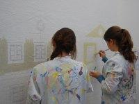 Praxislernen beim Maler