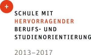 Schule mit hervorragender Berufs-und Studienorientierung 2013-2017