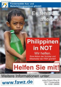 Philippinen in NOT - wir helfen