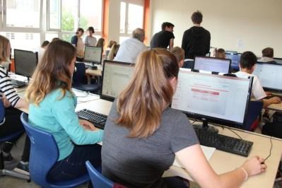 Gesamtschule Petershagen_NFTE-Ausscheid 2017_Businessplan erarbeiten_1