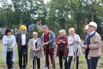 Gesamtschule Petershagen_Mit Spatenstich in Vorfreude auf den Neubau_September 2017_1