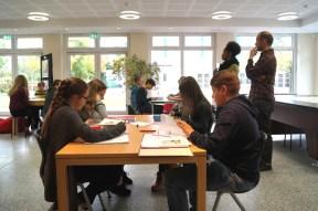 Gesamtschule Petershagen_Projekttage zum Tag der freien Schulen 2017_Rassismus im Supermarkt_1