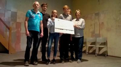 Gesamtschule Petershagen_Run for Help-Erlöse für Dorfsaal Petershagen gespendet_2