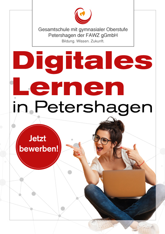 Digitales Lernen in Petershagen