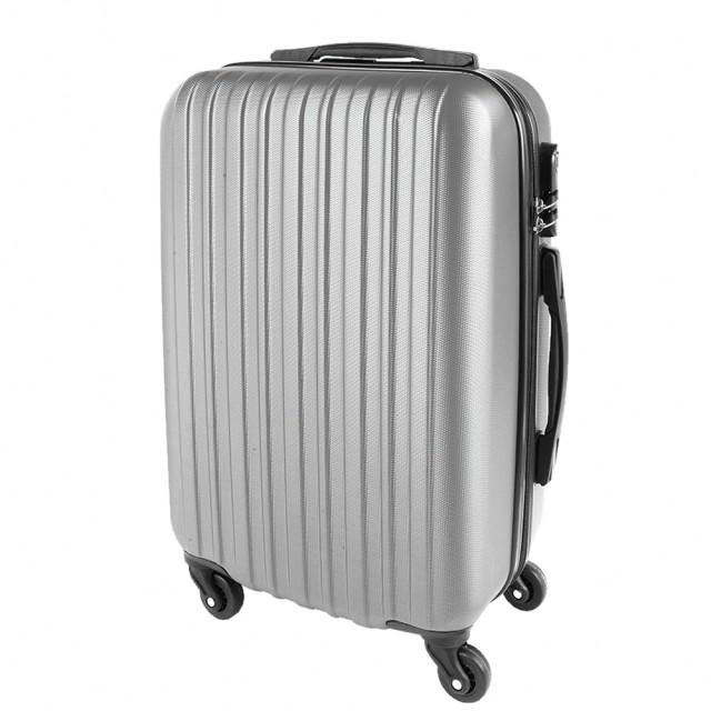 Valigia trolley rigida manico estraibile e interno foderato dimensione bagaglio a mano