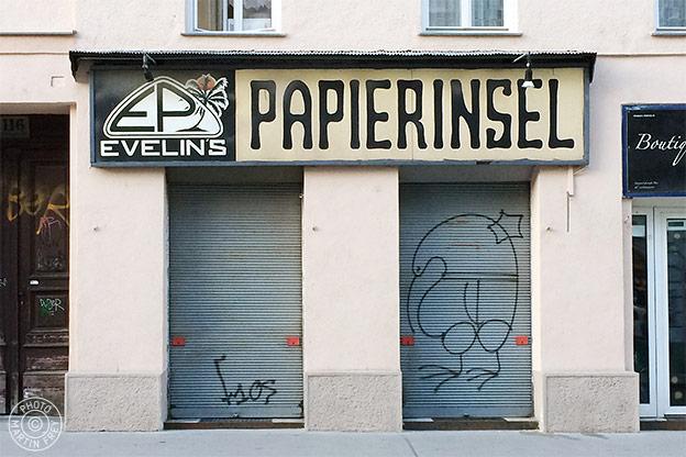 Evelyns Papierinsel: 1060 Wien