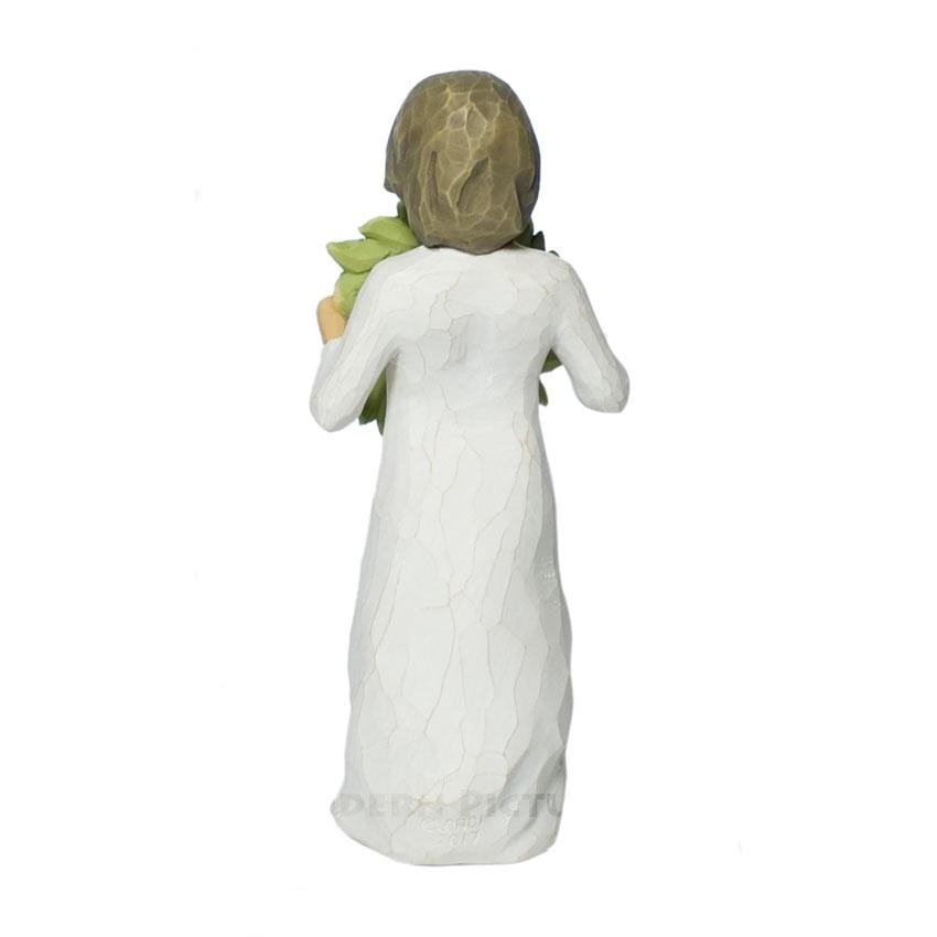 Willow Tree Magnolia Figur mit Kranz Susan Lordi