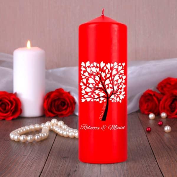 Brautstrau My Melody Calla und rote Rosen online gnstig