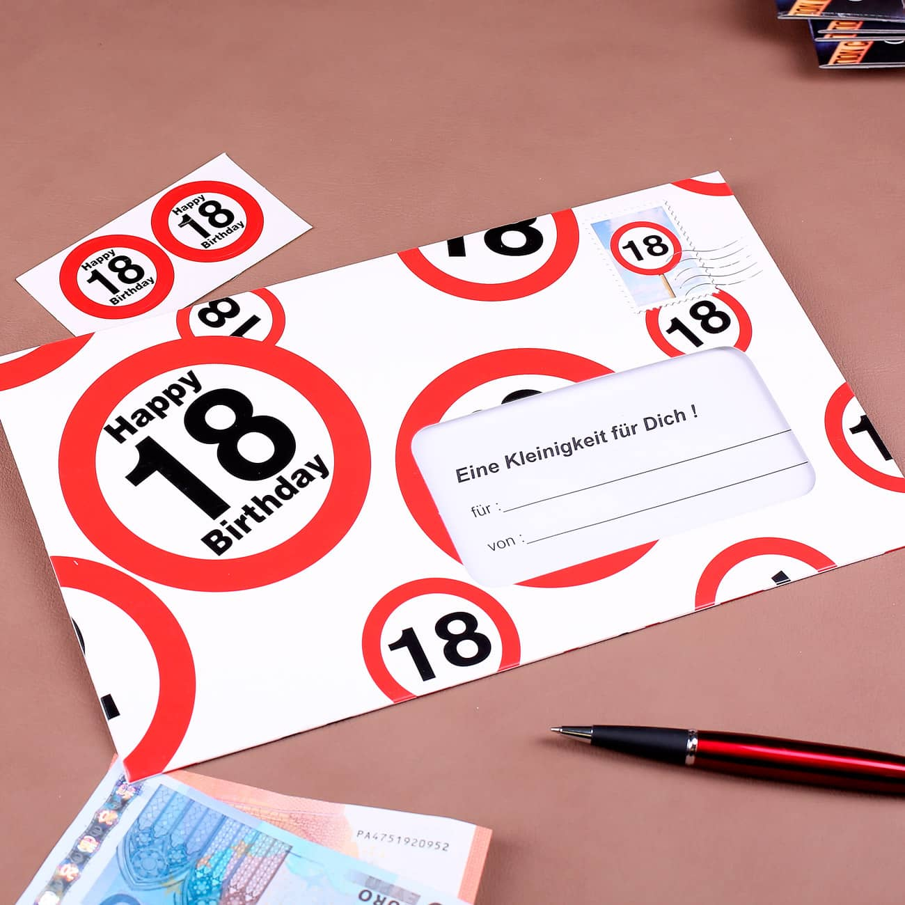 Karten fr Geldgeschenke zu verschiedenen Anlssen