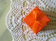 Geschenk Orange