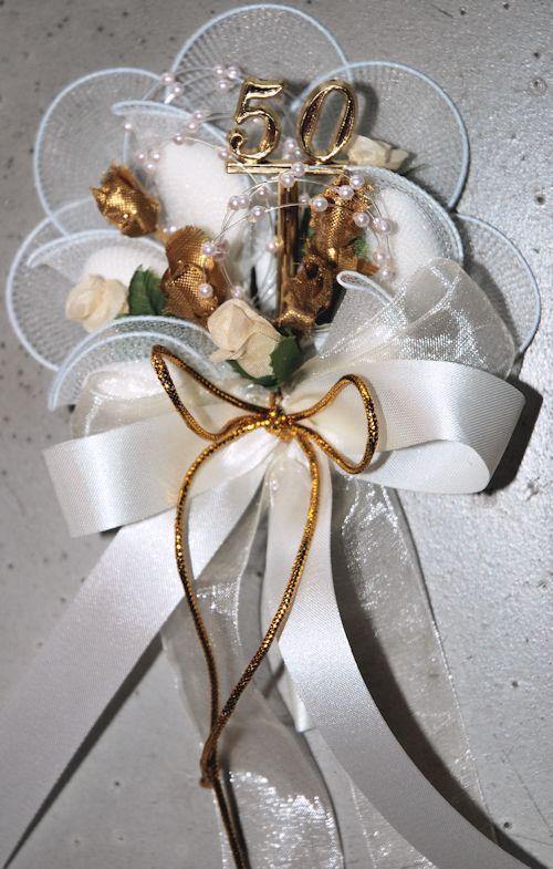 Goldene Hochzeit Bomboniere  Geschenke Gerdes