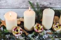 Pistazien-Cranberry-Weihnachtskringel