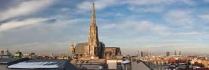 Skyline Wien Umzug Stephansdom Geschwandtner