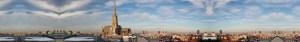 Skyline Wien Umzug Stephansdom