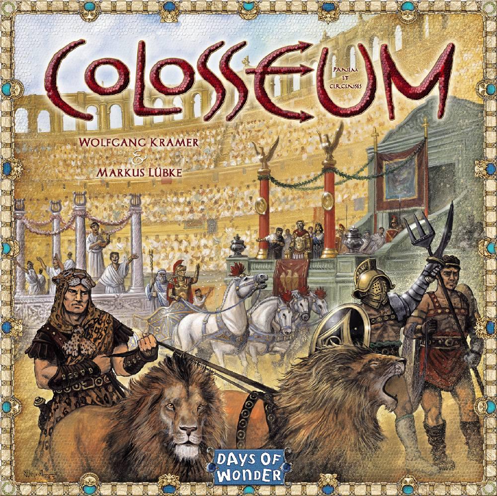 Days of Wonder Colosseum Gesellschaftsspiele Test 2019