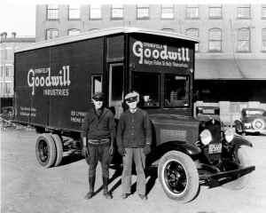 Goodwill-truck