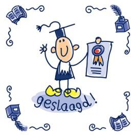 Geslaagd diploma 6