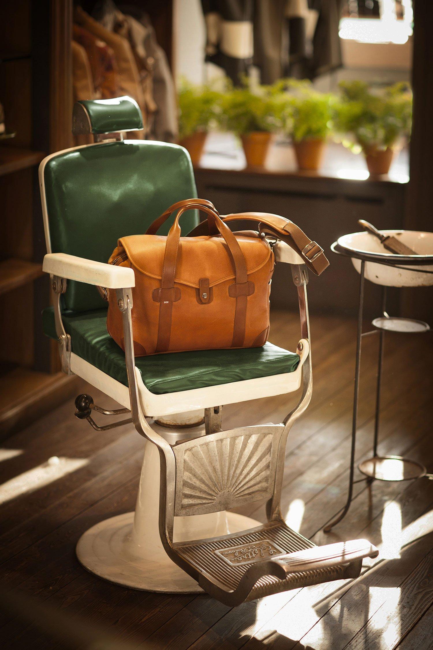 Barber Shop Italian Leather Goods