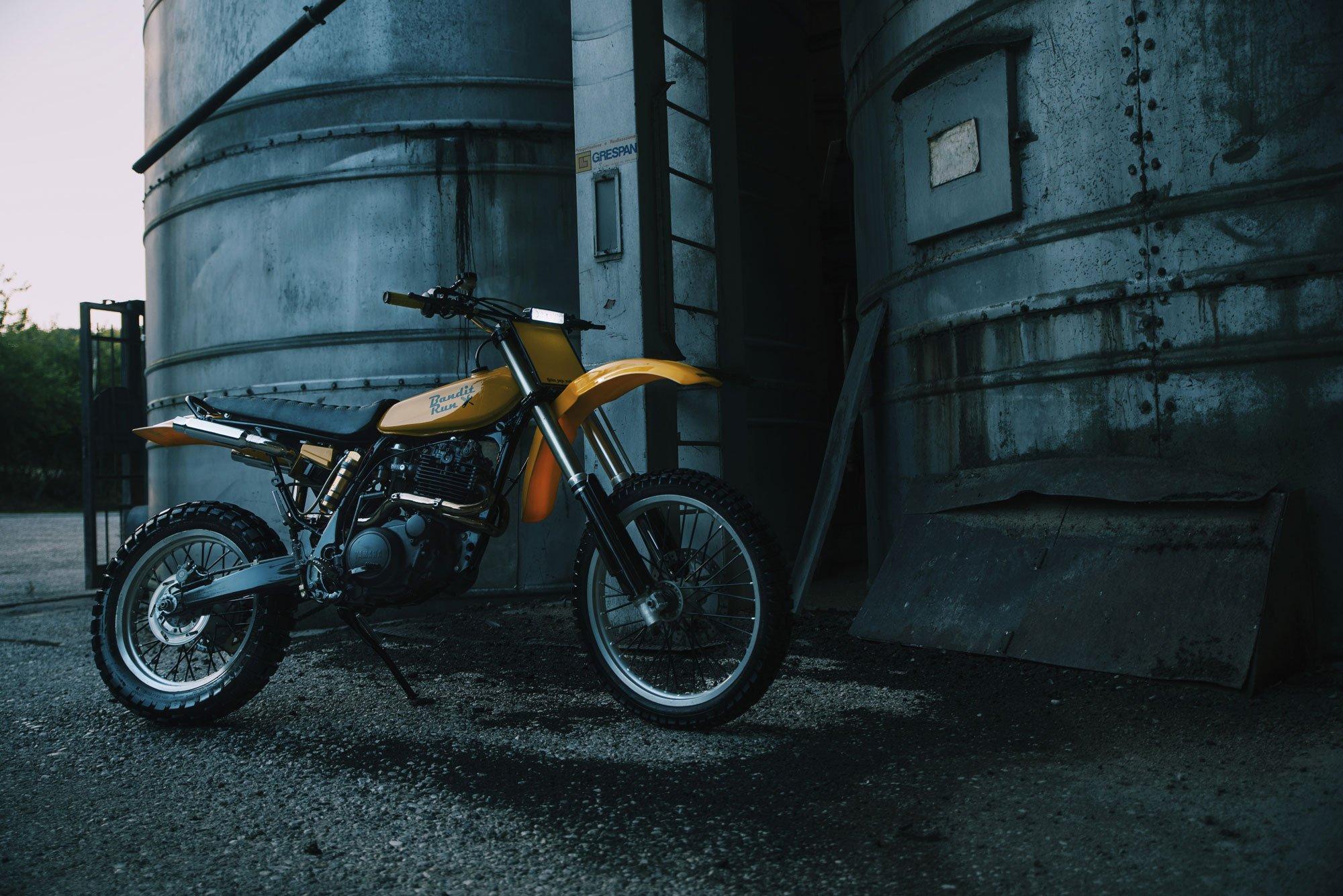 Bandit Run Custom Yamaha TT 600