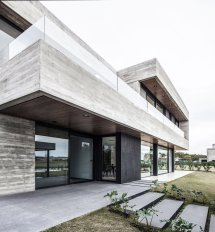 Modern Concrete Contemporary Homes
