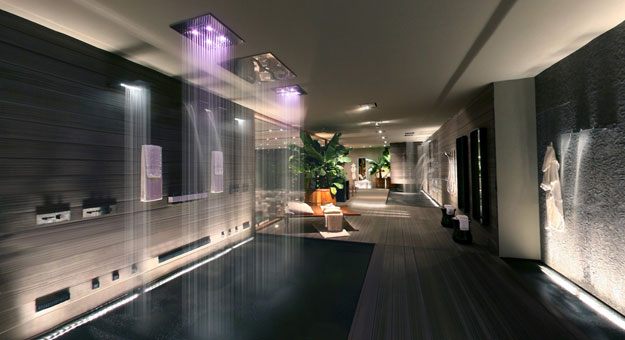 The private wellness company designing exclusive luxury bathroom  Gessi
