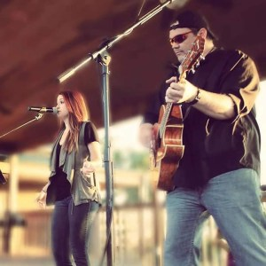 "Alexandra Kay and Jeff ""Schmitty"" Schmitz perform live"