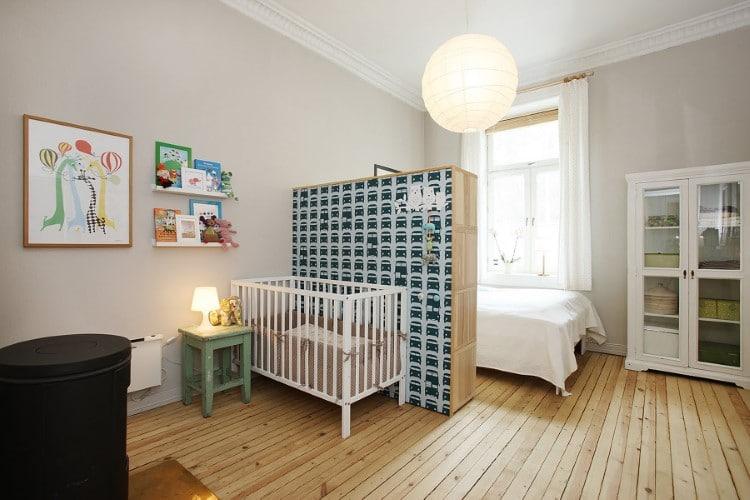 Decorao para quarto de beb junto com o casal