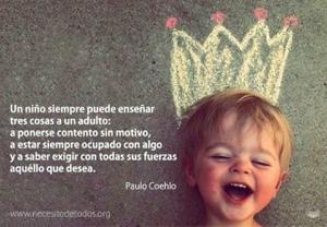 Un niño puede enseñar a un adulto, Psicoterapia Gestalt Valencia - Clotilde Sarrió