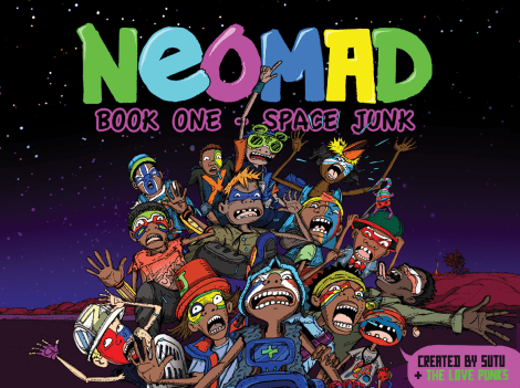 Neomad Book 1 - Space Junk