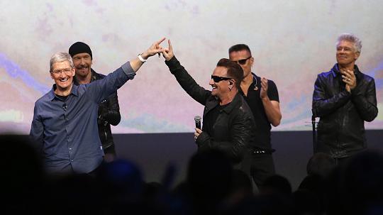U2 Album löschen / Foto by DPA / KS