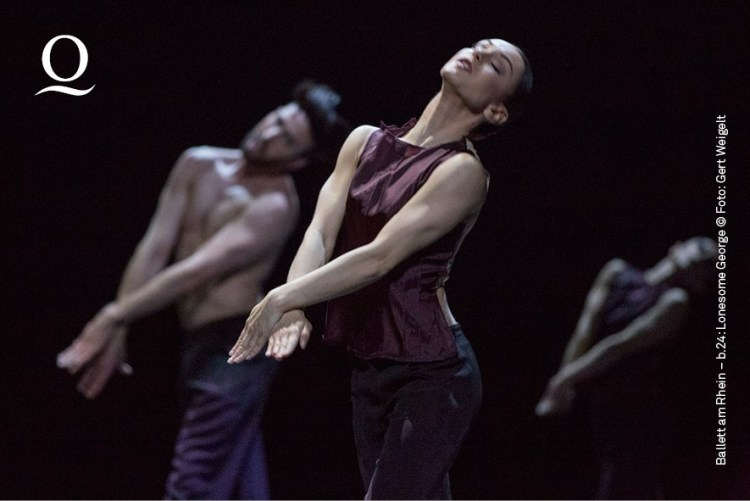 b.24 - Lonesome George Choreographie: Marco Goecke Felipe Frederico, Mariana Dias, Marlúcia do Amaral Foto: © Gert Weigelt