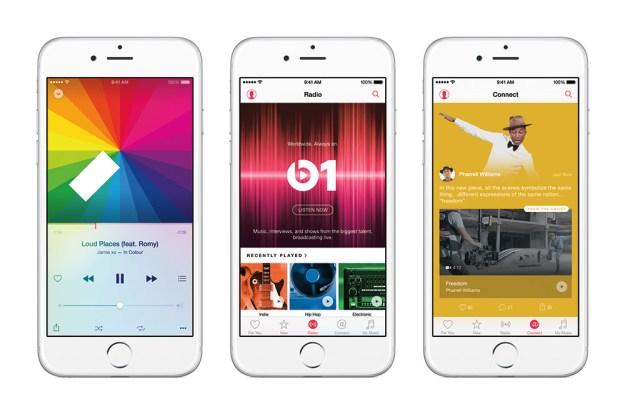 Apple Music gegen Spotify: ein visueller Vergleich