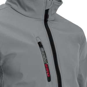 Softshell Jacke Gaastra - Detailaufnahme Zipper