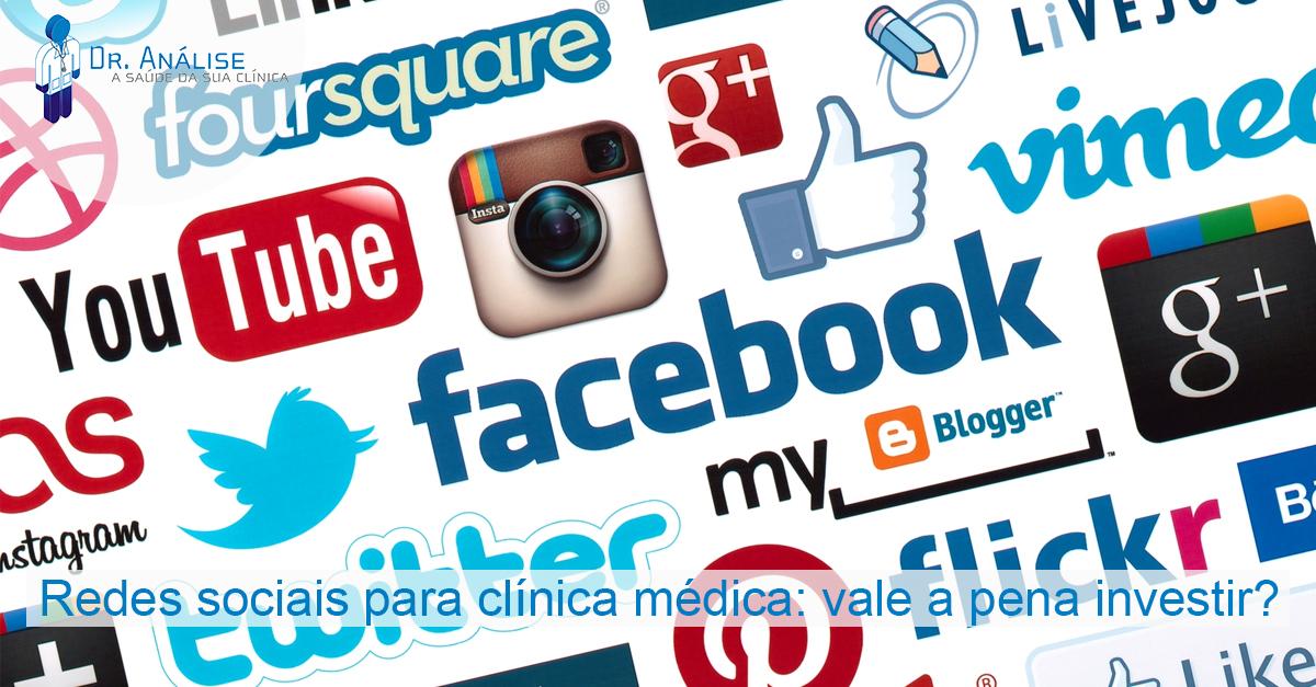 redes sociais para clínica médica