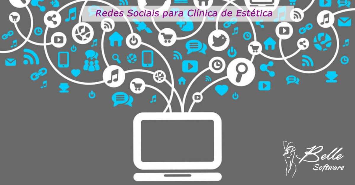 Redes Sociais para Clínica de Estética