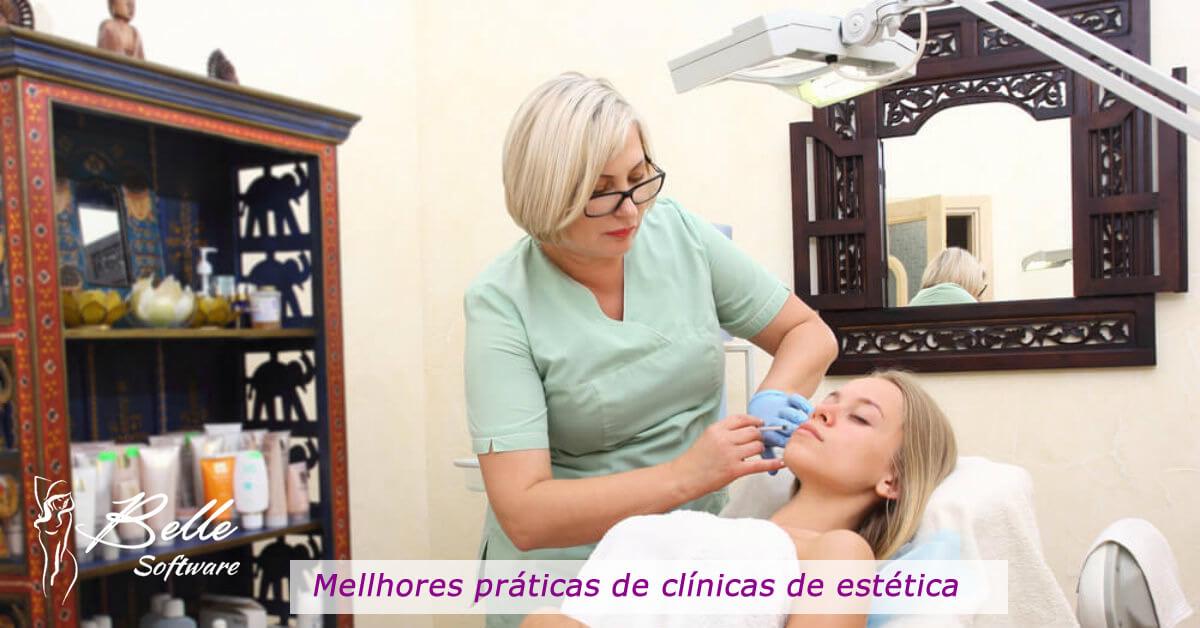 melhores práticas das clínicas de estética