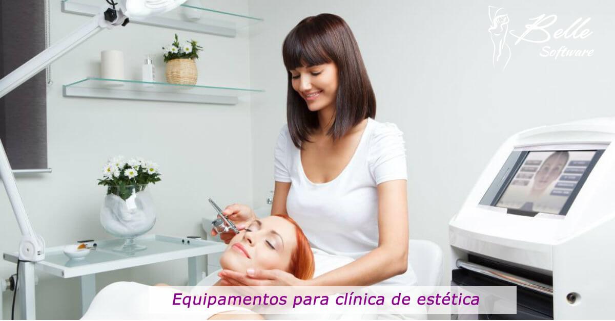Equipamentos para clínica de estética