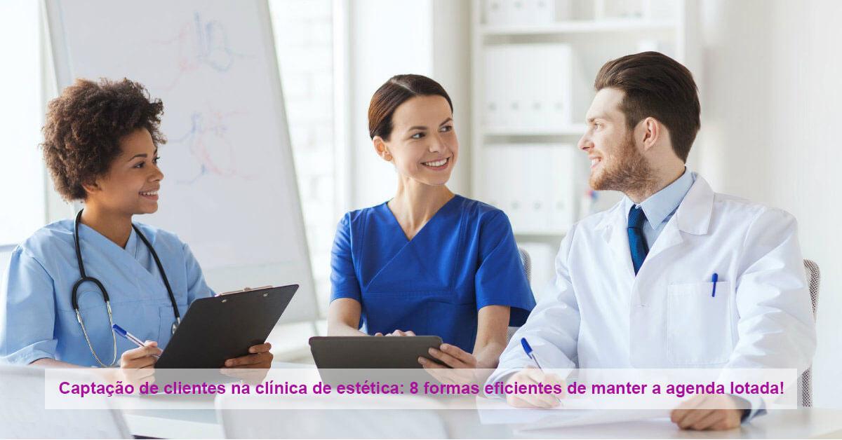 captação de clientes na clínica de estética