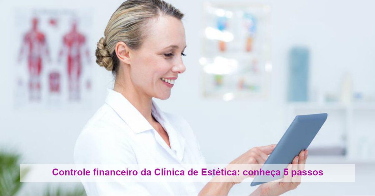 Controle financeiro da Clínica de Estética