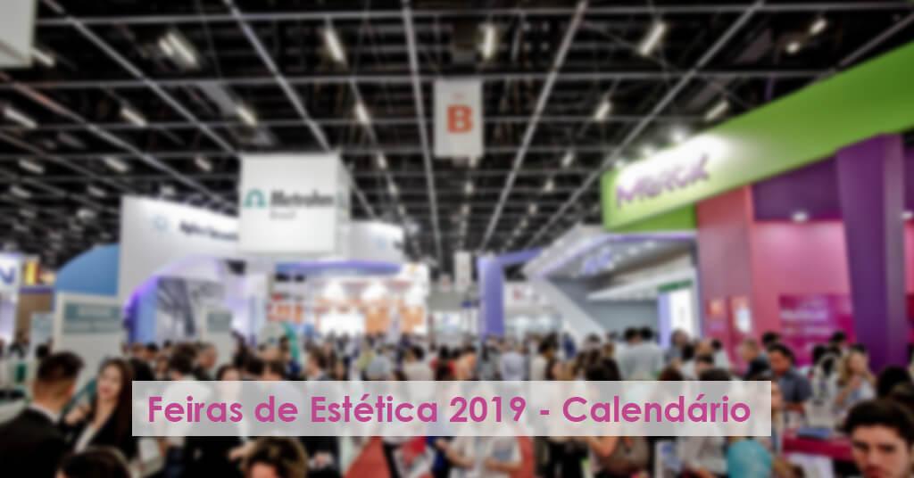 feiras de estetica 2019