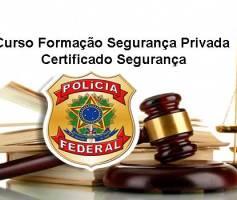 Curso Formação Segurança Privada Certificado Segurança
