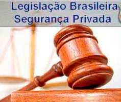 Legislação sobre Segurança Privada no Brasil: Decretos, Leis, Portarias.