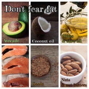 don't fear fat