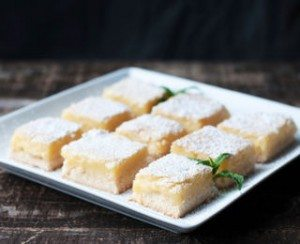 party food lemon brownies