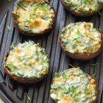 party food spinach stuffed mushrooms